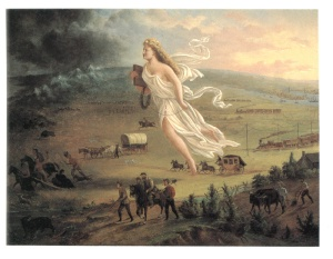 manifest destiny painting