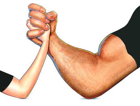 armwrestle